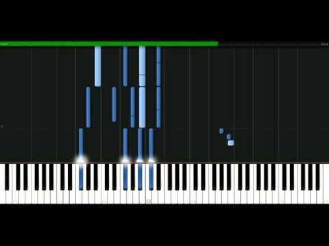 Miley Cyrus - One in a million [Piano Tutorial] Synthesia | passkeypiano