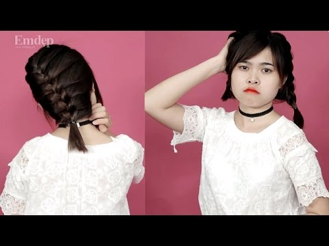 Kiểu tóc đẹp cực chất cho cô nàng tóc ngắn|Emdep TV