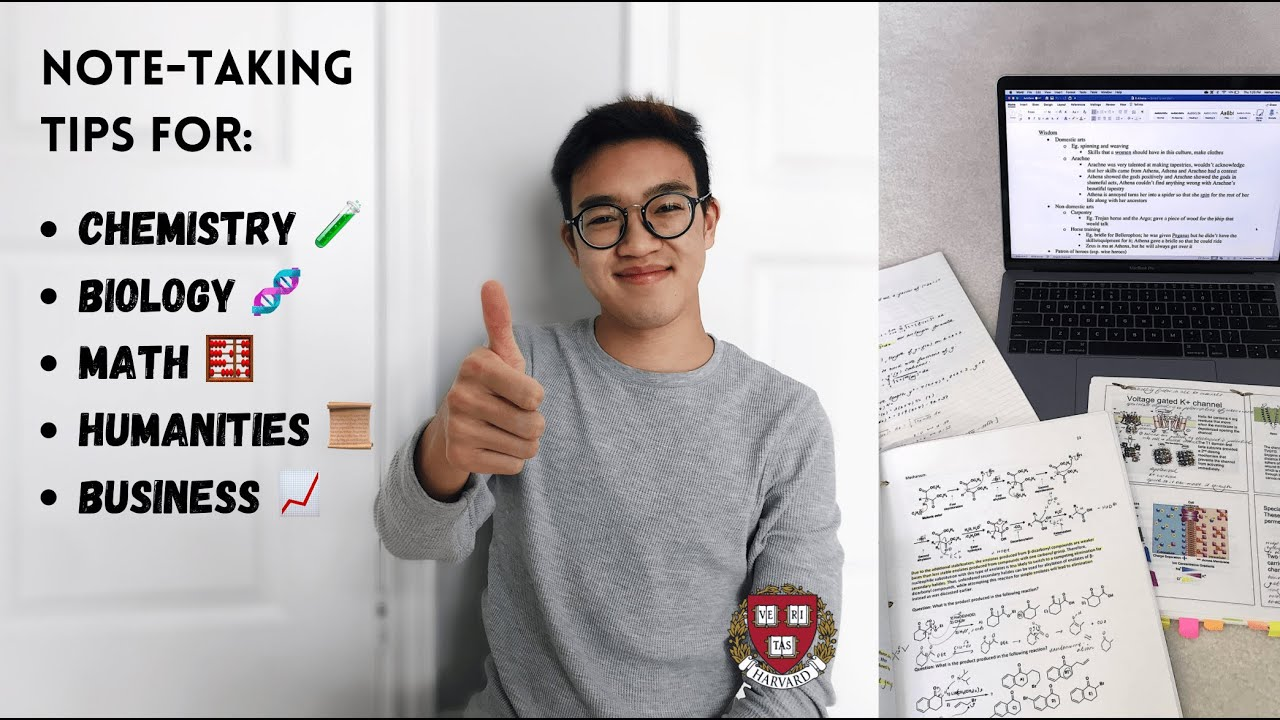 Download how to take notes DEPENDING ON THE SUBJECT *study tips from a HARVARD student* | PART 1