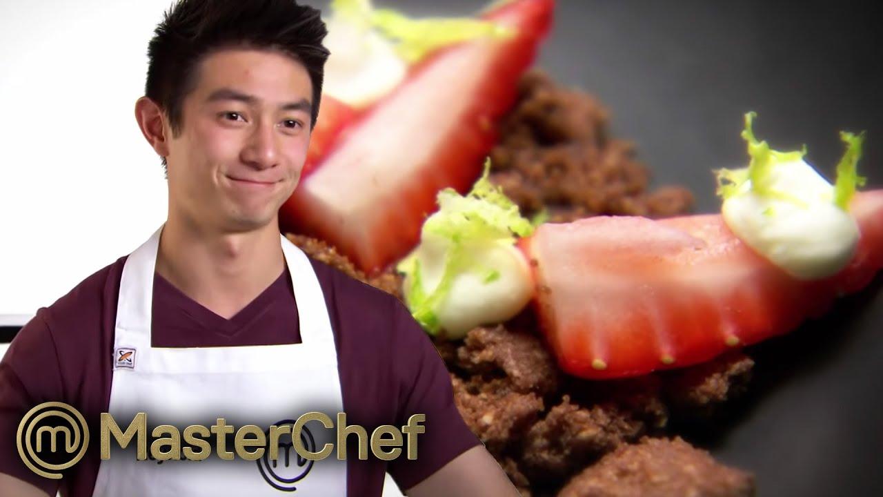 Reynold Poernomo's Chocolate Crumble Dessert | MasterChef Australia