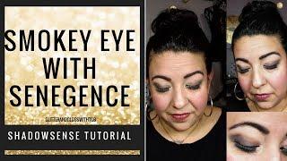 Smokey eye with Senegence ShadowSense