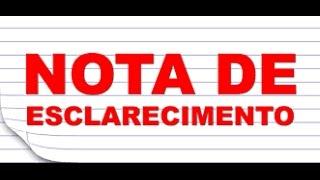 Nota de Esclarecimentos - Tela Rosa Lg - Rom - Novidades - Telegram - Canais de Comunicação