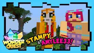 Wonder Quest - Episode 5 - STAMPY'S MINECRAFT SHOW | Stampylonghead (Stampy Cat), AmyLee33, ShayCarl