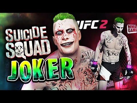 SUICIDE SQUAD JOKER in EA SPORTS UFC 2 | Ultimate team CAF Gameplay