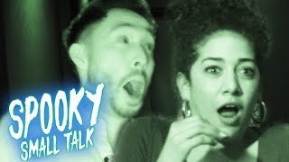 Download Ryan Interviews Marielle Scott in a Haunted House • Spooky Small Talk Mp3 and Videos