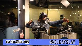Uncle  Murda stops by Dj Kayslay show at Shade45