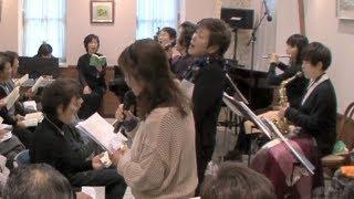 2012/12/16 第95回あづみ野うたごえ喫茶(長野県安曇野市) 多目的喫茶...