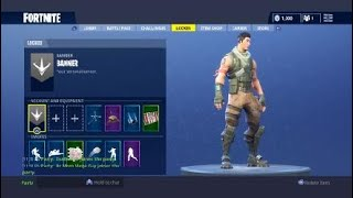 How to equip the default skin in fortnite battle royal (ps4)