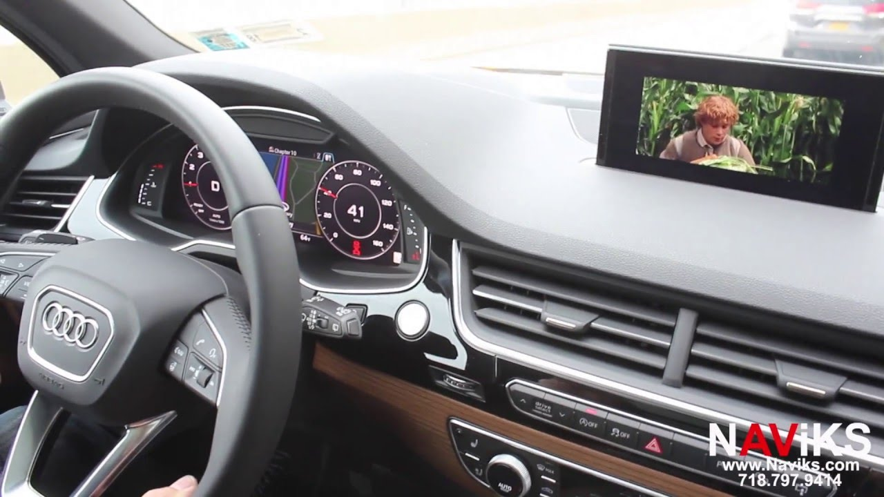 2016 - 2018 Audi Q7 (4M) (MIB2) Video In Motion Bypass