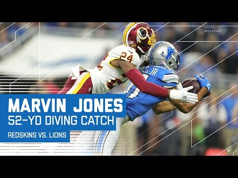 Marvin Jones Burns Josh Norman on this Diving Grab & Zenner