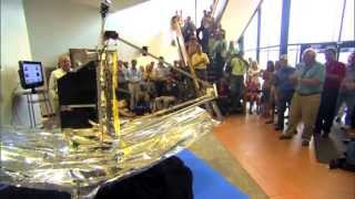Large Webb Telescope Model Built by CalPoly Students | NASA GSFC Space Science HD