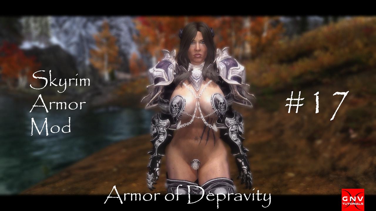 Skyrim | Armor of Depravity para CBBE BodySlide Número 17 [Review]