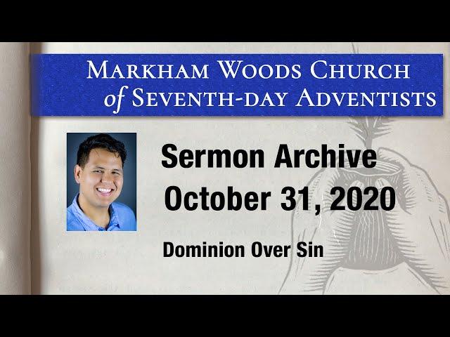 Dominion Over Sin - S20 E43