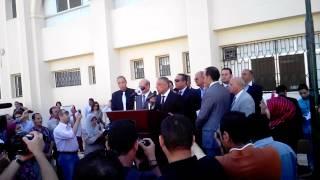 افتتاح المدرسة المصرية الدولية بالشيخ زايد