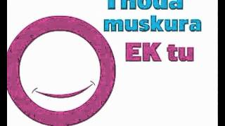 """Ek Main Aur Ekk Tu Title Song "" With Lyrics"