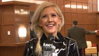 "Ellie Goulding Talks ""I Need Your Love"" Video & Bruno Mars - NBA All-Star Weekend"
