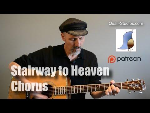 Stairway to Heaven - Chorus Guitar Lesson