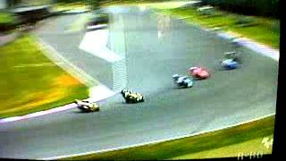 Mika Kalio battle in Moto2 Brno