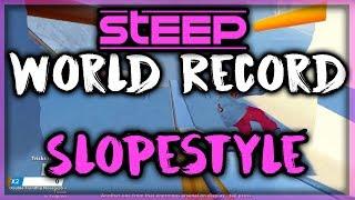 STEEP - Slopestyle (Olympics) World Record Score 52,616 by SniiKz