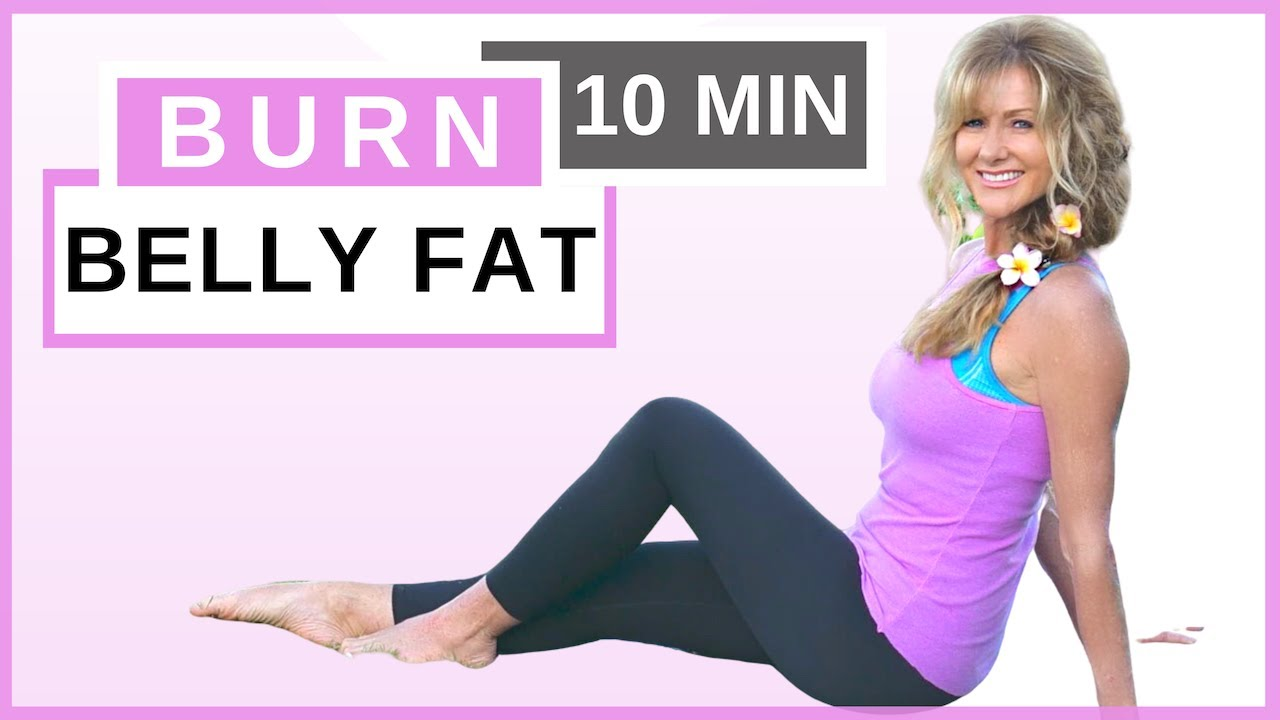 10 Minute Ab Workout For Women Over 50 | Reduce Belly Fat Fast | Fabulous50s