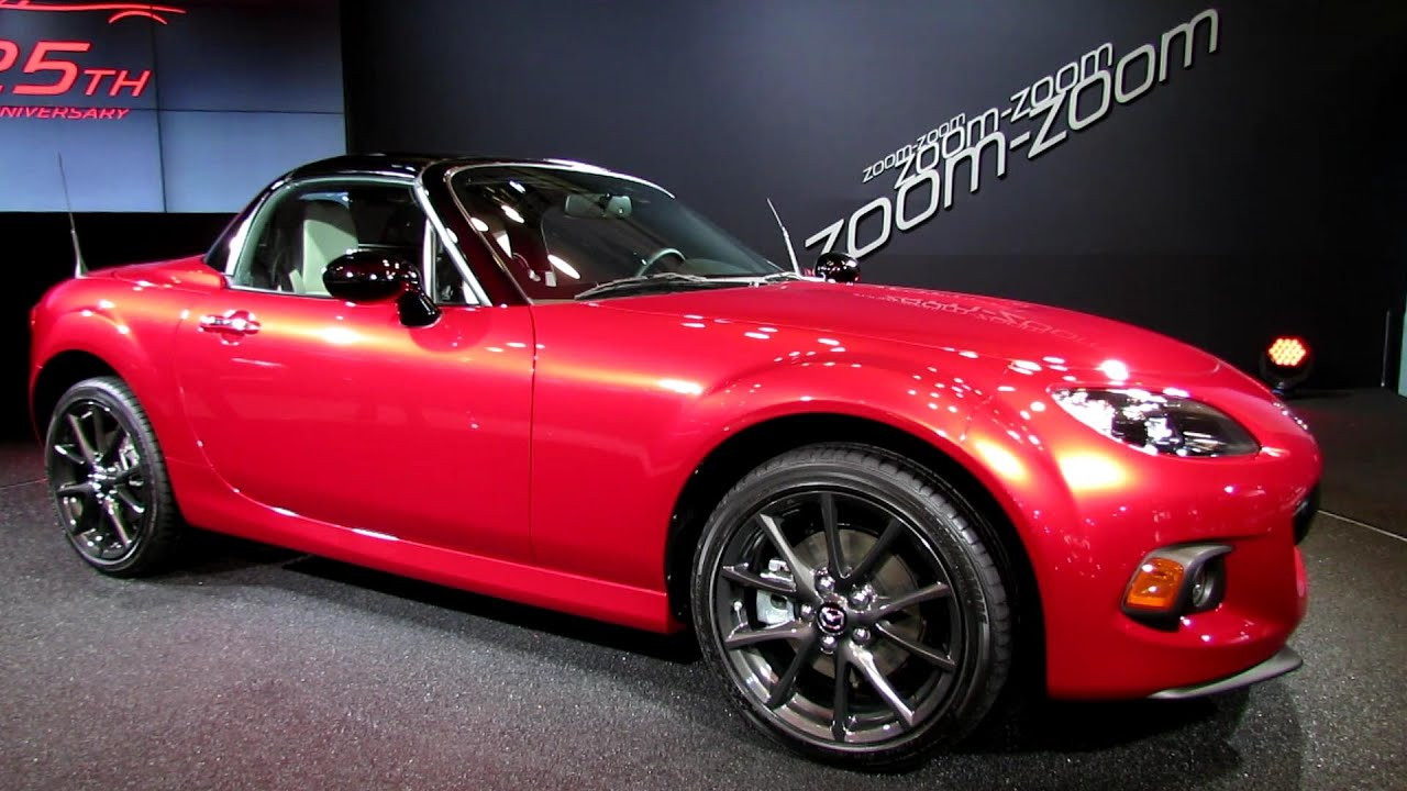 2015 mazda mx 5 miata 25th anniversary edition presentation 2014 new york auto show youtube. Black Bedroom Furniture Sets. Home Design Ideas