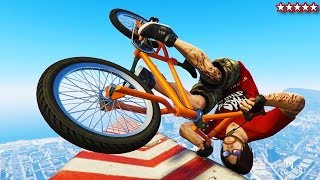 GTA 5 BMX & BIKE STUNT RACES - EPIC BMX GTA 5 ONLINE STUNTS & JUMPS - GTA 5 FUNNY MOMENTS & FAILS