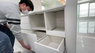 싱크대 라임퍼니처 팬트리형 키큰장 냉장고장 비스포크 키…