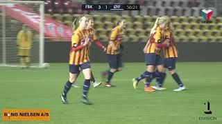 Highlights: Kvinderne rykkede op med 5-3 sejr over Østerbro IF