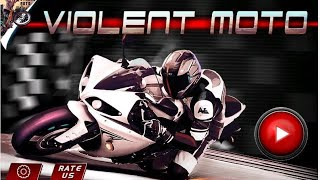 Violent moto android gameplay