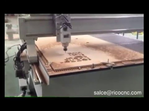 Wood Furniture Industry CNC Router 2040 for Modern Office Furniture Making  MDF Cuttting W2040VC
