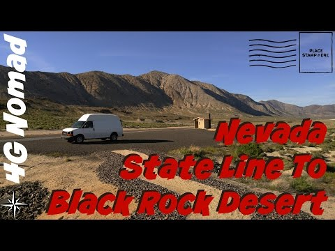 4G Van Life: More Boondocking Spots and the Black Rock Desert