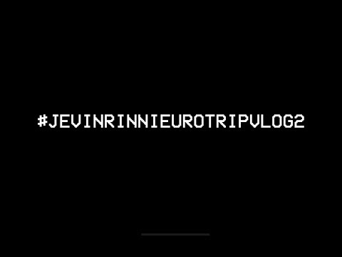 JEVIN RINNI EURO TRIP #HONEYMOONVLOG2