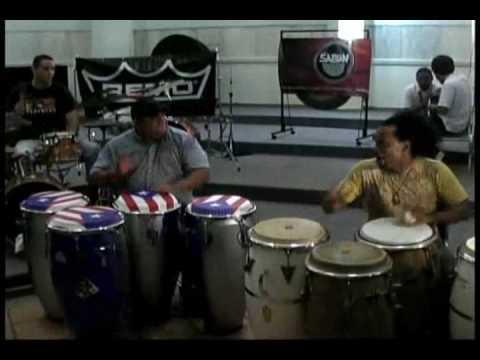 Puerto Rico Percusionistas, Richie Flores y Paoli Mejias Master Class Parte 2