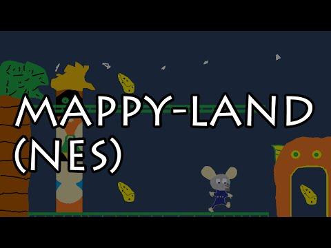 Mappy-Land (NES) - 5 Player Race
