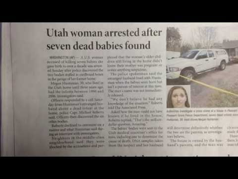 쏙쏙 오늘의 코리아타임스 (The Korea Times) Utah woman arrested after seven dead babies found (2014.4.15)