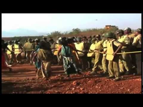 Forced evictions in Orissa, India