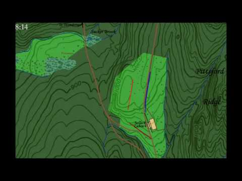 The Battle of Hubbardton Animated Map