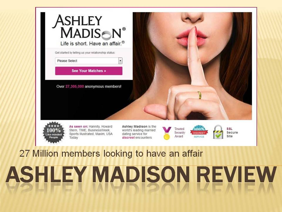 Ashley Madison How Does It Work