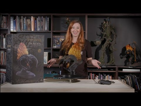Unboxing The Balrog, Flame Of Udûn Creature Bust - Weta Workshop