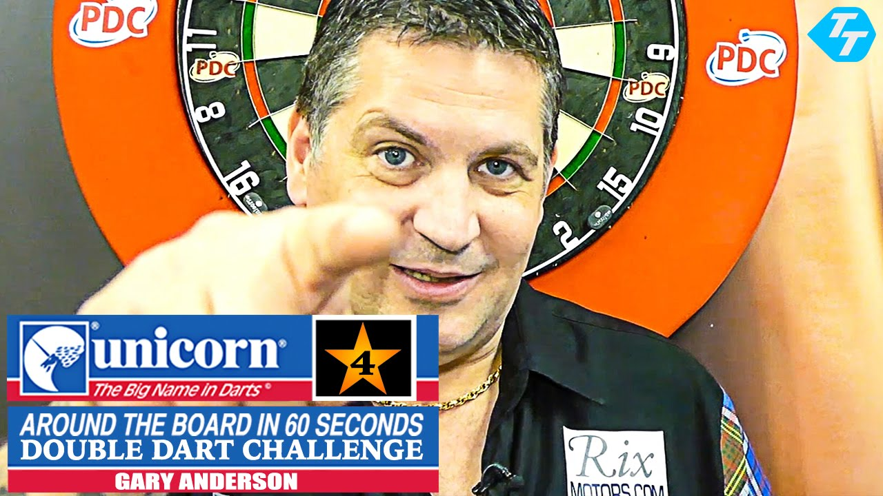 Gary Anderson - Team Unicorn Double Dart Challenge