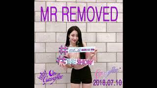 GyeongRee (경리) - Blue Moon (어젯밤 ) MR REMOVED (Inkigayo 2018.07.10)