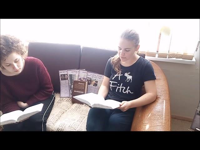 Изображение предпросмотра прочтения – «КОЛЛЕКТИВ ГКОУ СКОШИ №30» читают отрывок изпроизведения «Архипелаг ГУЛАГ» А.И.Солженицына