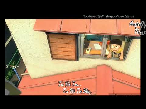 Aaja mai hawao me utha k.. Nobita and sizuka