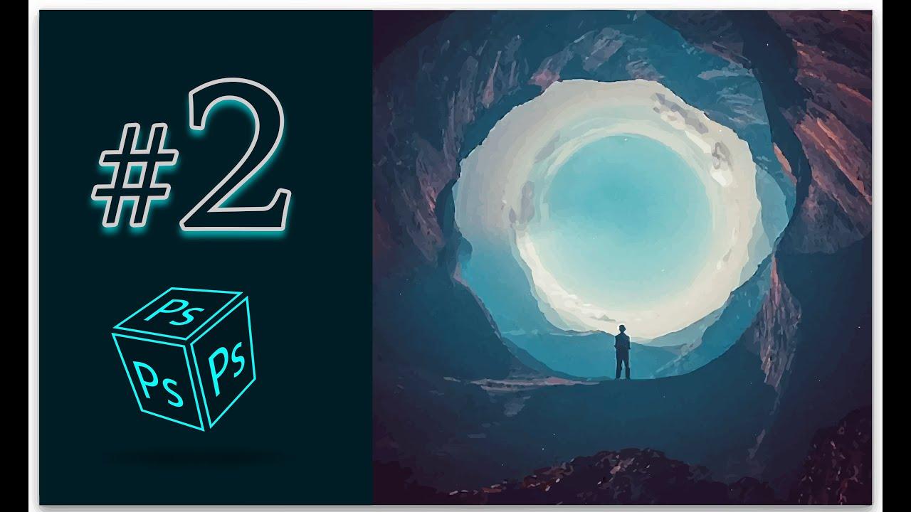 كورس تعلم الفوتوشوب للمبتدئين 2# Move Tool ( V ) Adobe Photoshop 2019