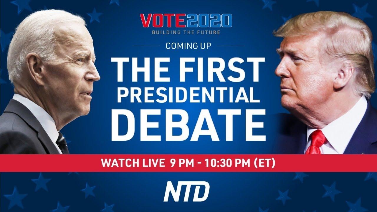 LIVE: Trump, Biden face off in first presidential debate   Vote 2020   China in Focus