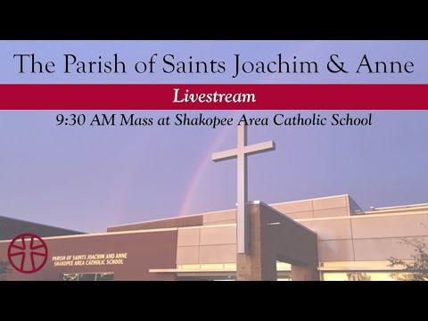 9:30 AM Mass at Shakopee Area Catholic School | Parish of Saints Joachim & Anne, Shakopee