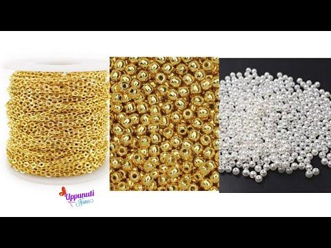 How To Beautiful Pearl Earrings At Home | DIY | Pearl Drop Earrings | uppunutihome