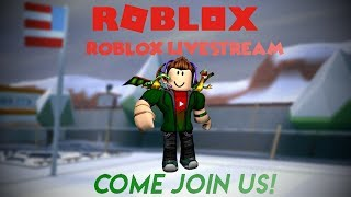 (NEW!) 🔴Roblox-Livestream! #Roadto900subs!🔴COME JOIN US!