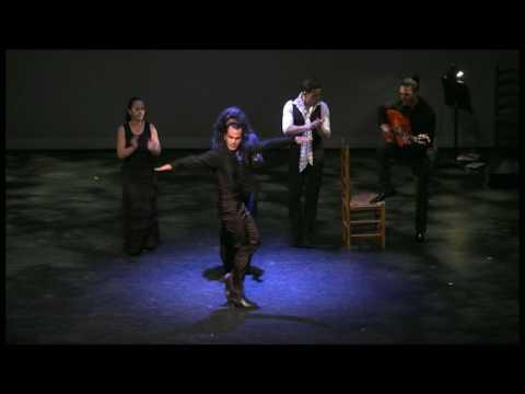 Pepe Flores solo with Ballet Flamenco La Rosa