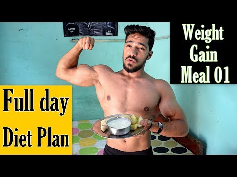 Cheap Full Day Diet Plan to GAIN WEIGHT | Meal 01 | bodybuilding tips hindi